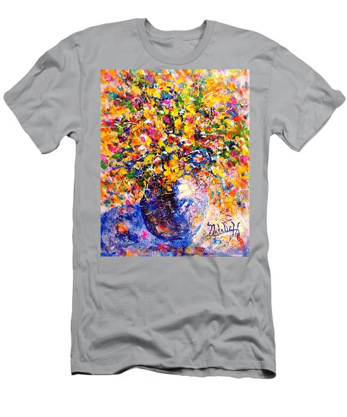 Yellow Sunshine Men's T-Shirt (Athletic Fit)