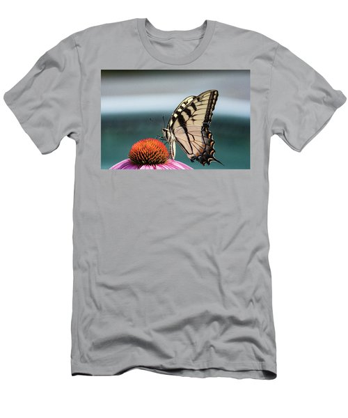 Yellow Swallowtail II Men's T-Shirt (Athletic Fit)