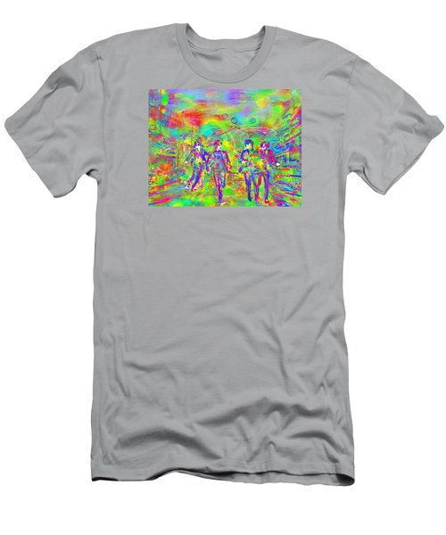 Yesterday Men's T-Shirt (Slim Fit) by Dave Luebbert