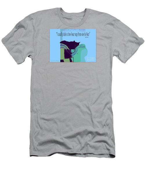 Yogi Cat Nap Men's T-Shirt (Athletic Fit)