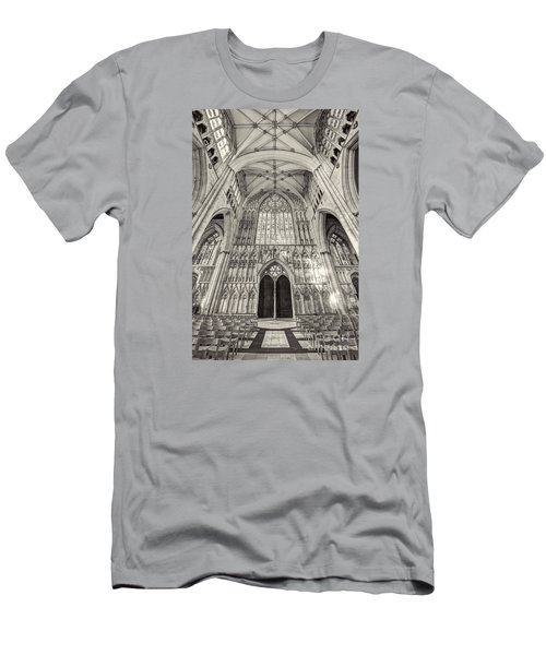 Men's T-Shirt (Slim Fit) featuring the photograph York Minster Uk by Jack Torcello