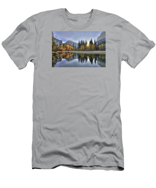 Yosemite Reflections Men's T-Shirt (Athletic Fit)