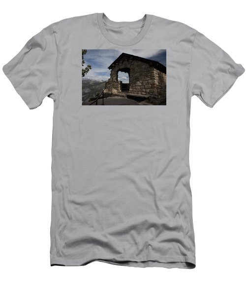 Yosemite Refuge Men's T-Shirt (Slim Fit) by Ivete Basso Photography