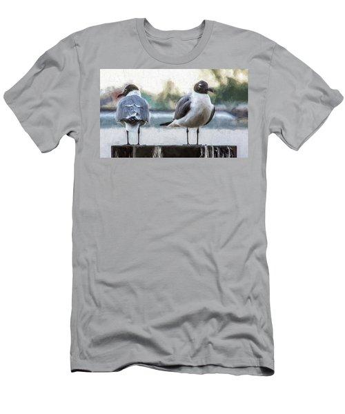 You Got My Back, Yeah,  I Got Your Back Men's T-Shirt (Athletic Fit)