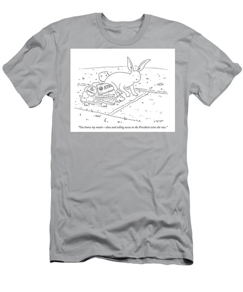You Know My Motto Men's T-Shirt (Athletic Fit)
