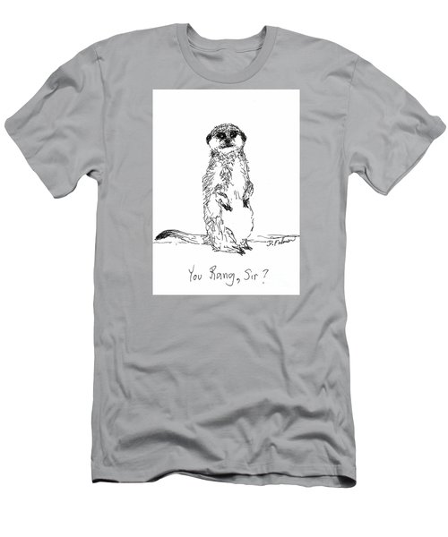 You Rang, Sir? Men's T-Shirt (Athletic Fit)