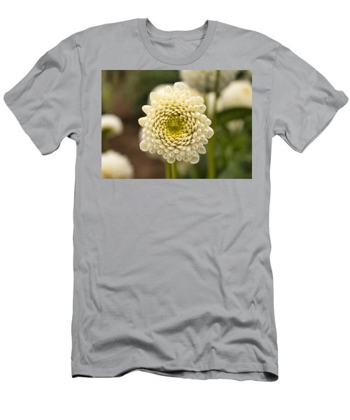 Men's T-Shirt (Athletic Fit) featuring the photograph Young Dahlia by Brian Eberly