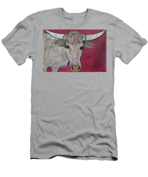 Young Longhorn  Men's T-Shirt (Athletic Fit)