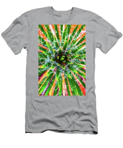 Men's T-Shirt (Athletic Fit) featuring the photograph Yucca Sunrise by Darren White