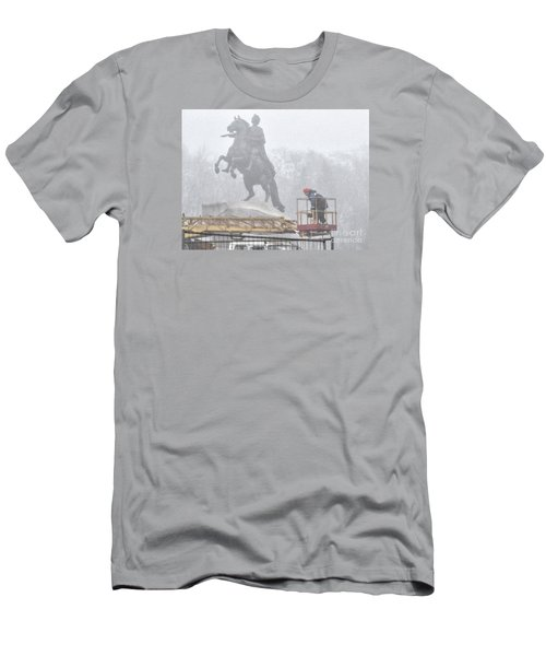 Yury Bashkin The Fog Street Peterburg Men's T-Shirt (Athletic Fit)