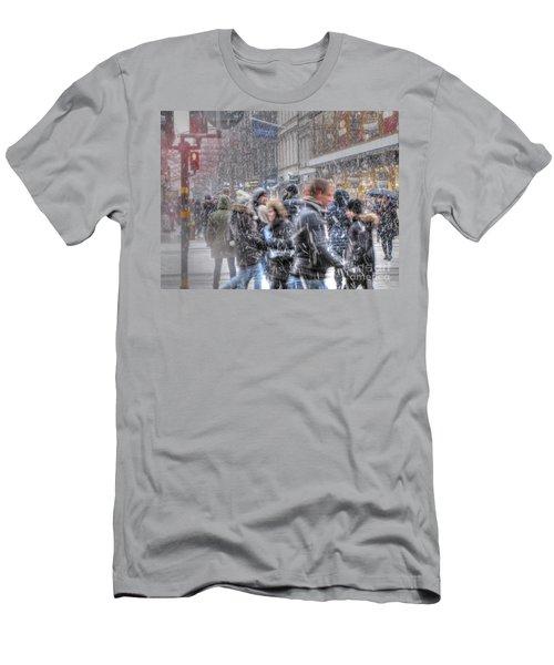 Yury Bashkin Winterstockholm Men's T-Shirt (Slim Fit) by Yury Bashkin