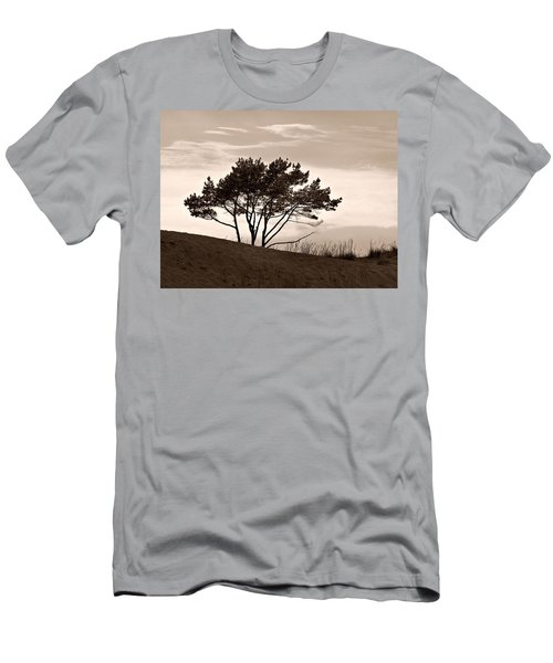 Men's T-Shirt (Slim Fit) featuring the photograph Yyteri Evening by Jouko Lehto