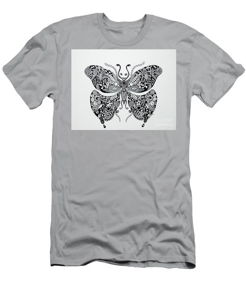 Zen Butterfly Men's T-Shirt (Athletic Fit)