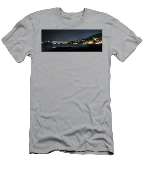 Zihuatanejo, Mexico Men's T-Shirt (Slim Fit) by Jim Walls PhotoArtist