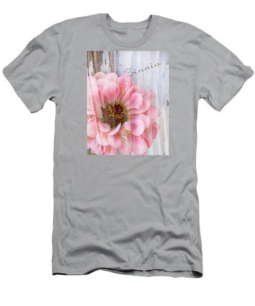 Sheer Zinnia Men's T-Shirt (Athletic Fit)