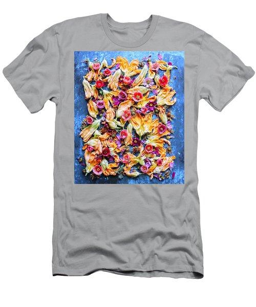 Zucchini Blossoms Season Men's T-Shirt (Athletic Fit)