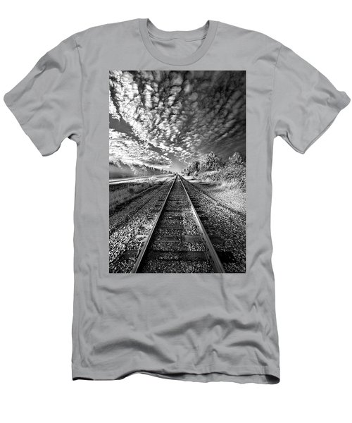 Men's T-Shirt (Athletic Fit) featuring the photograph All The Way Home by Phil Koch
