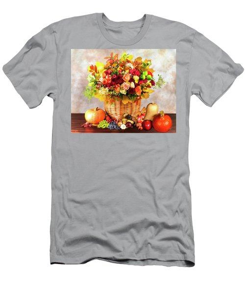 Autum Harvest Men's T-Shirt (Athletic Fit)