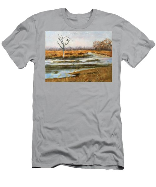Early Spring On The Marsh Men's T-Shirt (Athletic Fit)