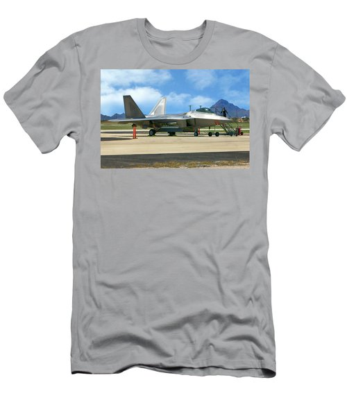 F22 Rapter Men's T-Shirt (Athletic Fit)
