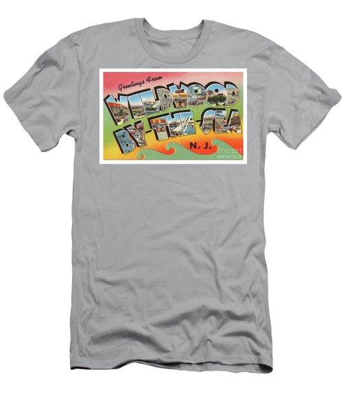 Wildwood Greetings - Version 3 Men's T-Shirt (Athletic Fit)