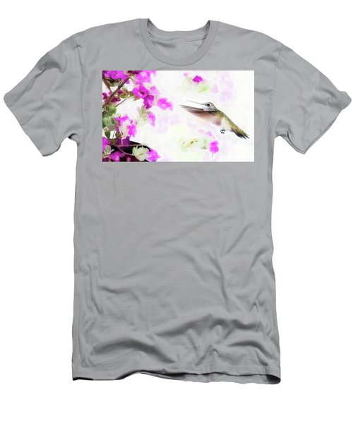 Hungry Hummer Men's T-Shirt (Athletic Fit)