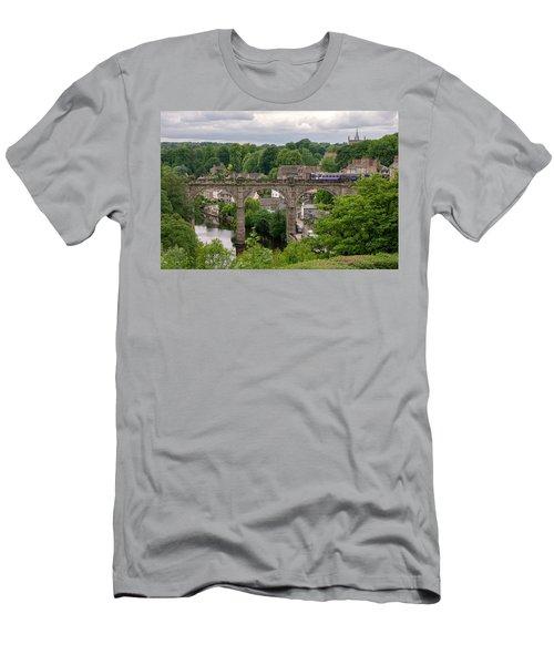 Knaresborough Viaduct  Men's T-Shirt (Athletic Fit)