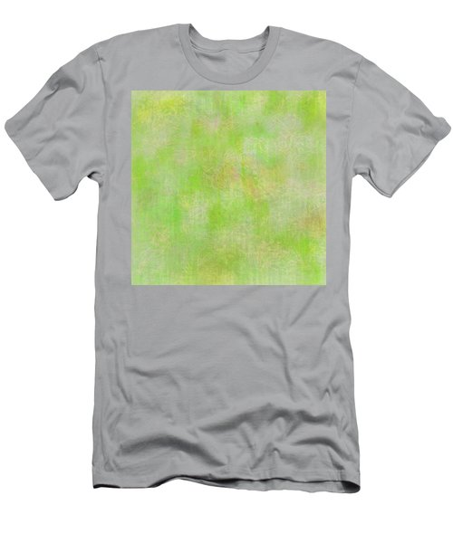 Lime Batik Print Men's T-Shirt (Athletic Fit)