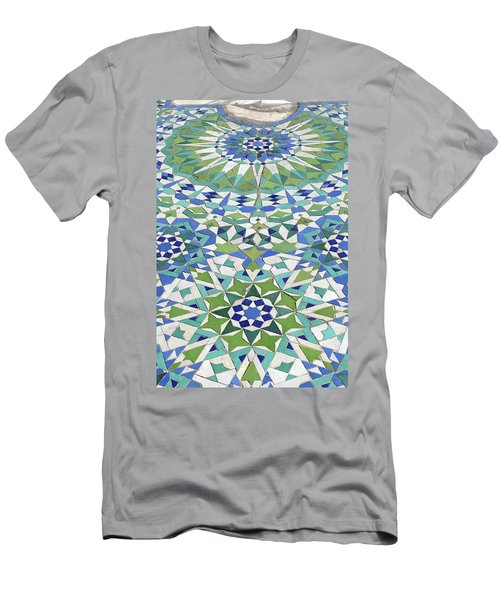 Mosaic Exterior Decorations Of The Hassan II Mosque Men's T-Shirt (Athletic Fit)