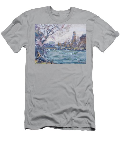 Niagara River Men's T-Shirt (Athletic Fit)