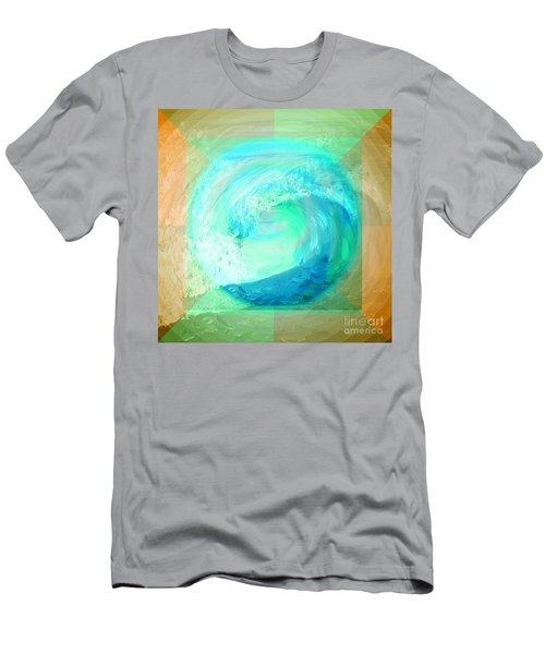 Ocean Earth Men's T-Shirt (Athletic Fit)