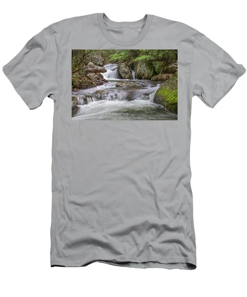On The Trail To Cascade Falls Men's T-Shirt (Athletic Fit)
