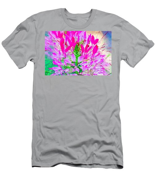Pink Queen Watercolor Men's T-Shirt (Athletic Fit)