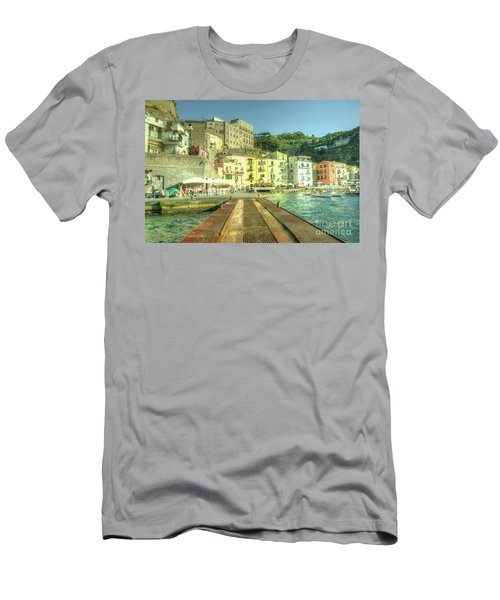 Sorrento Waterfront Men's T-Shirt (Athletic Fit)