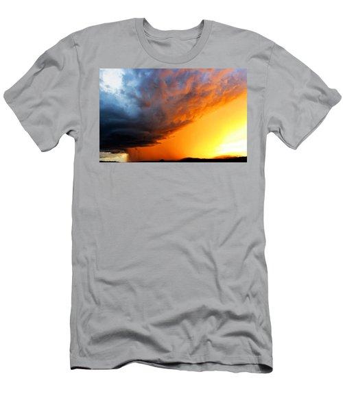 Sunset Storm Men's T-Shirt (Athletic Fit)