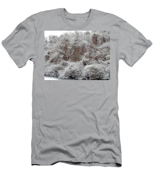 Men's T-Shirt (Athletic Fit) featuring the photograph The Forest Hush by Lynda Lehmann
