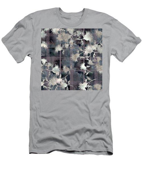 Thistle Plaid  Men's T-Shirt (Athletic Fit)