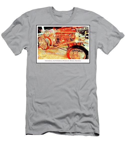 1921 Rolls Royce Classic Automobile Men's T-Shirt (Athletic Fit)