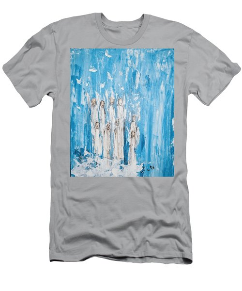 Heavenly Host Of Angels  Men's T-Shirt (Athletic Fit)