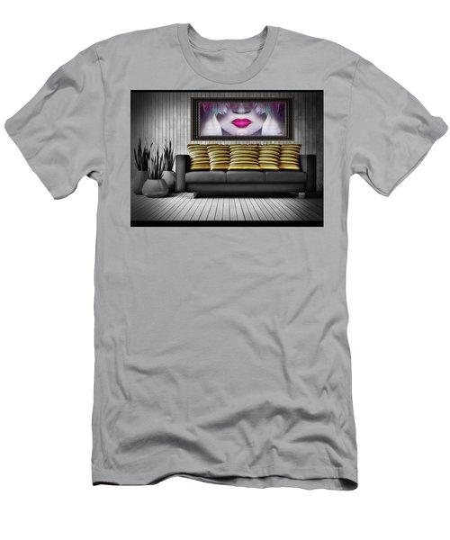Lady Fashion Beauty Men's T-Shirt (Athletic Fit)