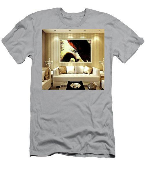 Lady Feast Nature Men's T-Shirt (Athletic Fit)
