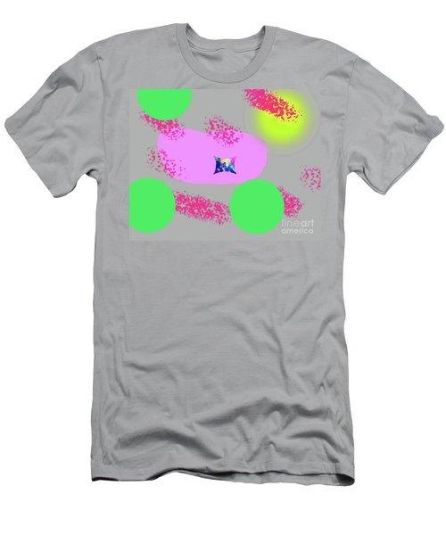 3-18-2009abcdefghijklmnopq Men's T-Shirt (Athletic Fit)