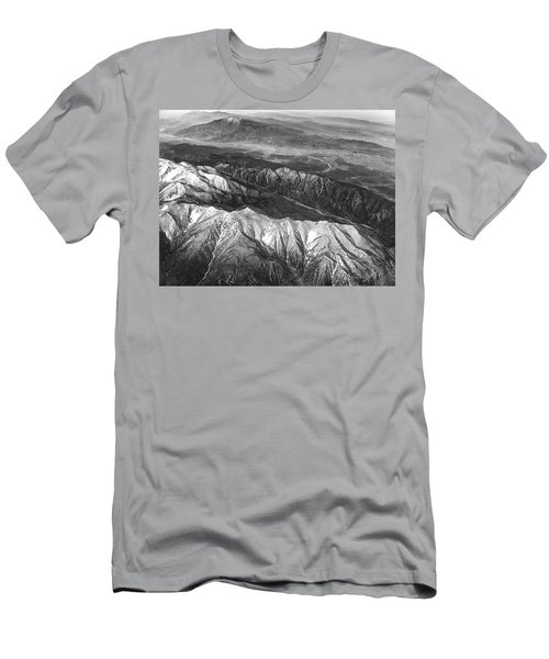 35,000 Feet Over Utah Men's T-Shirt (Athletic Fit)