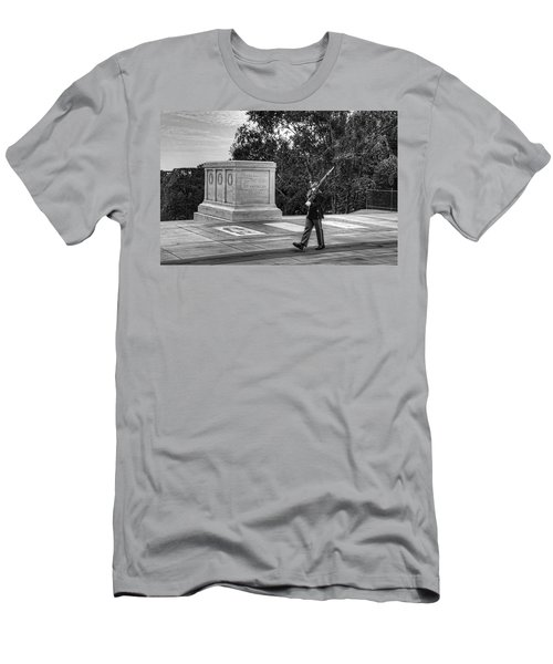 Tomb Of The Unknown Soldier Men's T-Shirt (Athletic Fit)