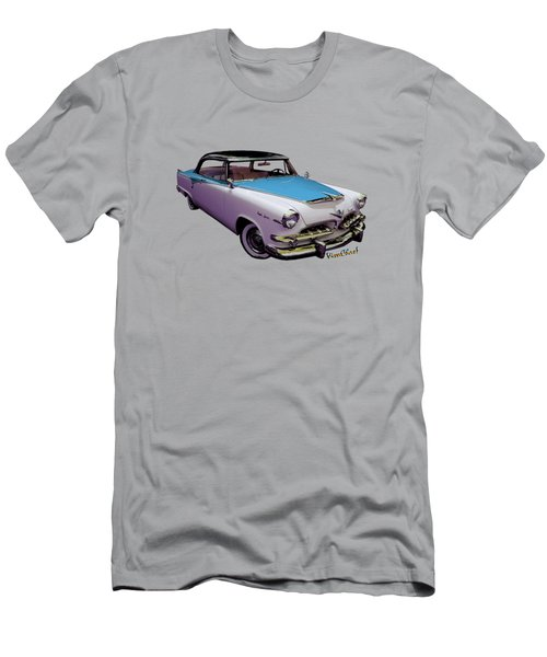 55 Dodge Hemi Hardtop Ahead Of The Pack-mobile Men's T-Shirt (Athletic Fit)