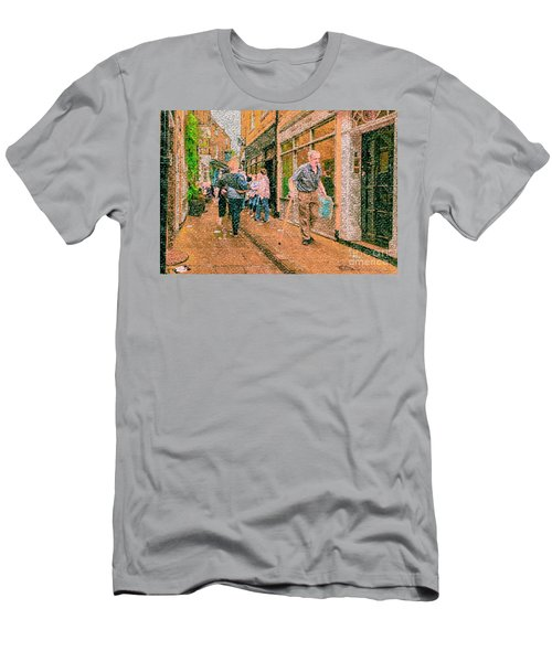 A Day At The Shops Men's T-Shirt (Athletic Fit)
