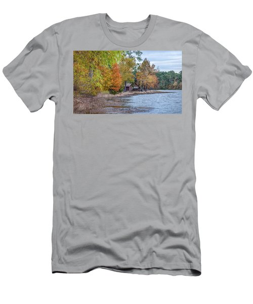 A Peaceful Place On An Autumn Day Men's T-Shirt (Athletic Fit)