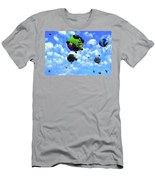 A Sunny Morning At The Balloon Fiesta  Men's T-Shirt (Athletic Fit)