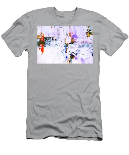 Men's T-Shirt (Athletic Fit) featuring the painting Ab19-17 by Arttantra