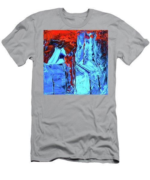 Men's T-Shirt (Athletic Fit) featuring the painting Ab19-2 by Arttantra